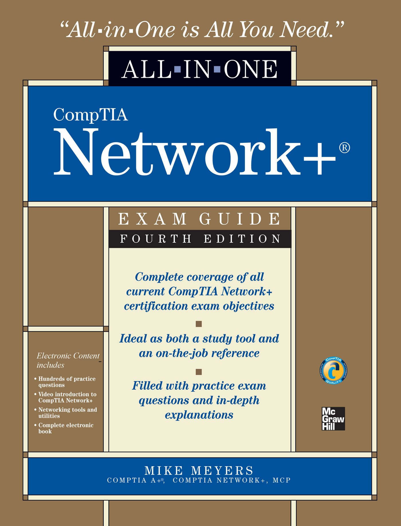 CompTIA Network All-in-One Exam Guide, Fourth Edition 4, Meyers ...