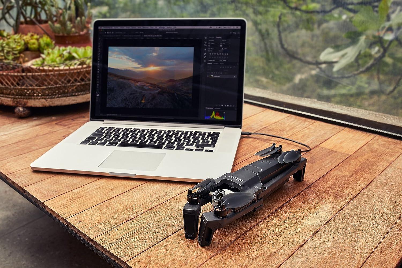 Paquete profesional completo port/átil El dron ultracompacto Anafi Work Parrot C/ámara 4K HDR de 21 MP Software de modelado 3D 180/° de orientaci/ón y zoom sin p/érdida Dron 4K