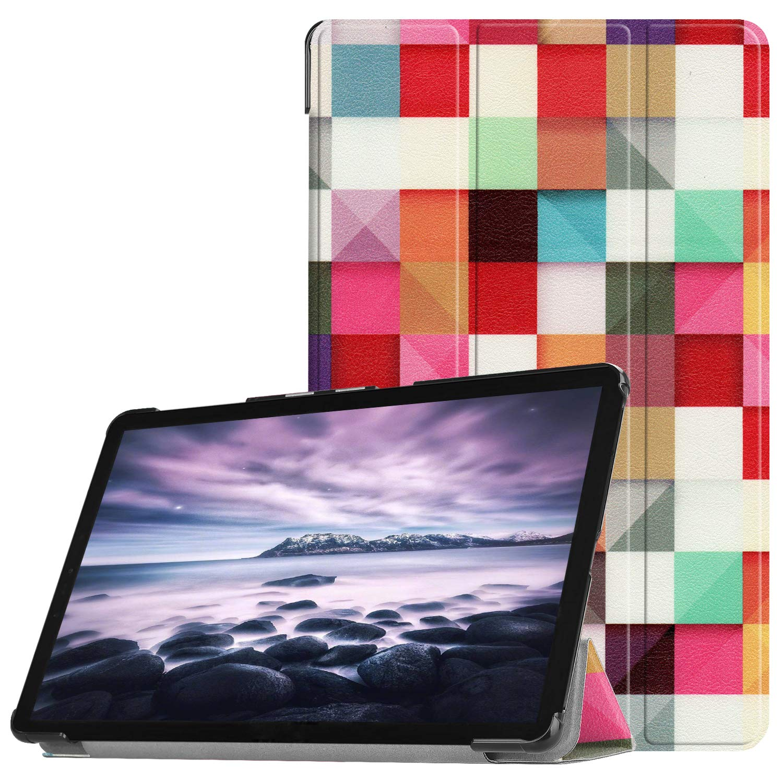 Slim Custodia con Funzione di Auto Sveglia//Sonno Case Protettiva in pelle PU per Samsung Galaxy Tab A 10.5 Pollici 2018 Tablet SM-T590//T595 Acelive Cover Samsung Tab A 10.5