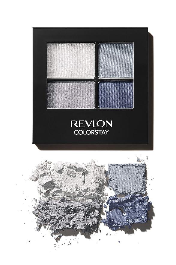 ihocon: Revlon ColorStay 16 Hour Eyeshadow Quad 四色眼影盤