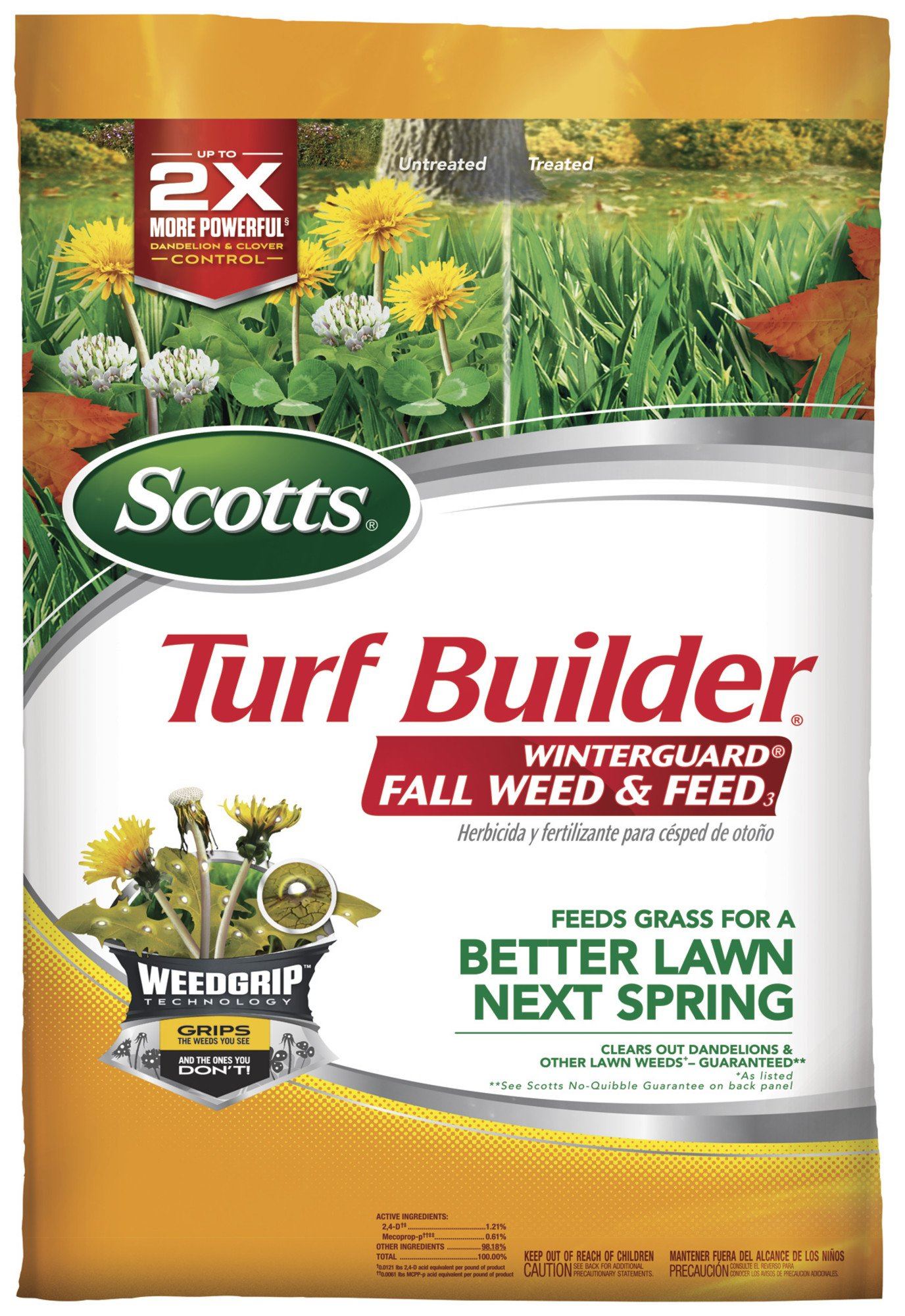 Scotts Turf Builder WinterGuard Fall Weed & Feed