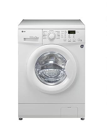 LG F1492QD Frontlader Waschmaschine (A++ A, 1400 UpM, 7 kg, Inverter Direct  Drive, super leise, langlebig, telefonische Fehlerdiagnose Smart