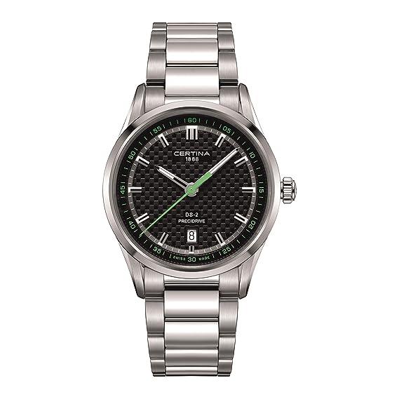 CERTINA DS-2 RELOJ DE HOMBRE CUARZO CORREA DE ACERO C024.410.11.051.02: Amazon.es: Relojes
