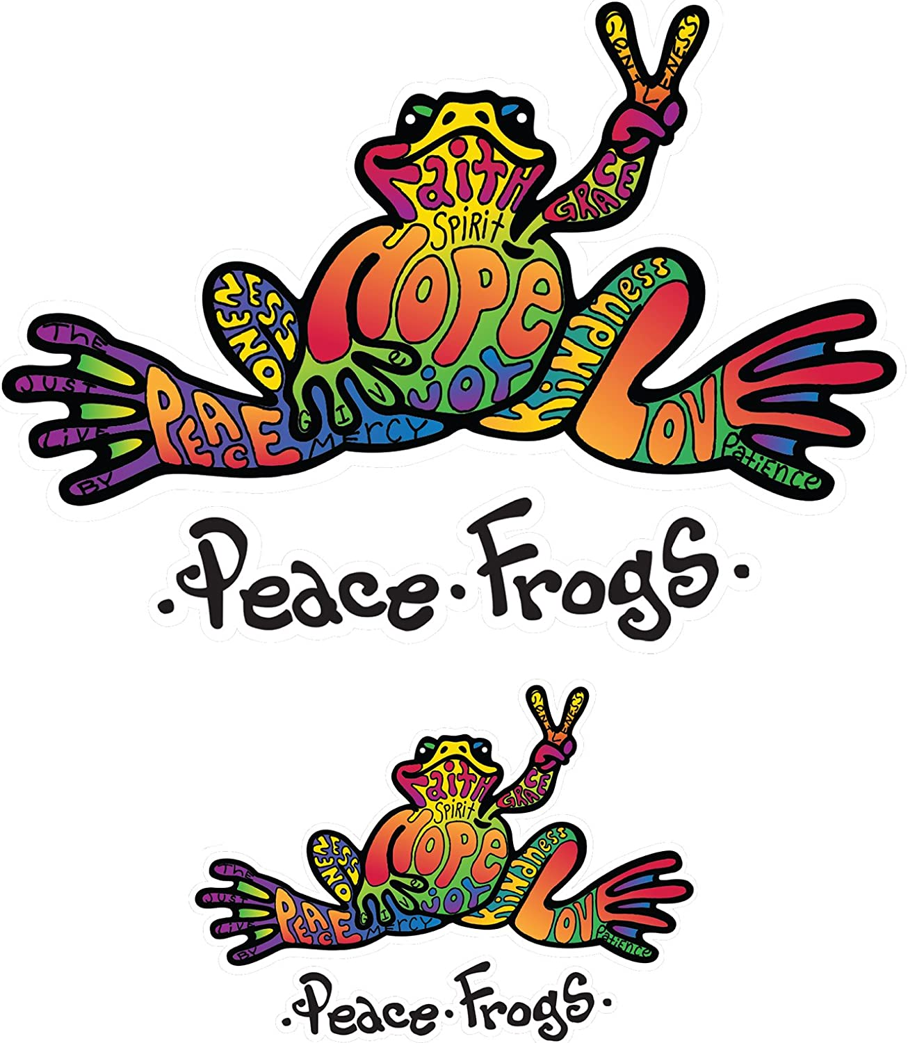"""Peace on Earth Decal 6/"""" Decal Free Shipping"""