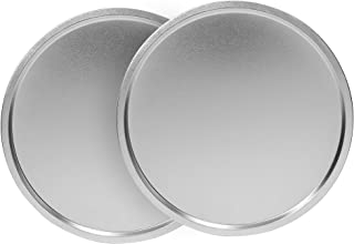 product image for EZ Baker Durable Steel Construction 14 in. Pizza Pan, Set of 2 - American-Made, Natural Baking Surface that Heats Evenly for Perfect Baking Results