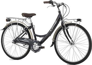 Cicli Cinzia Bicicleta Old Time Mujer, Marco de Aluminio, 3 Marchas ...