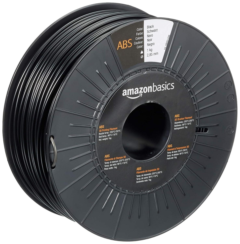AmazonBasics - Filamento para impresora 3D, plástico ABS, 2,85 mm ...