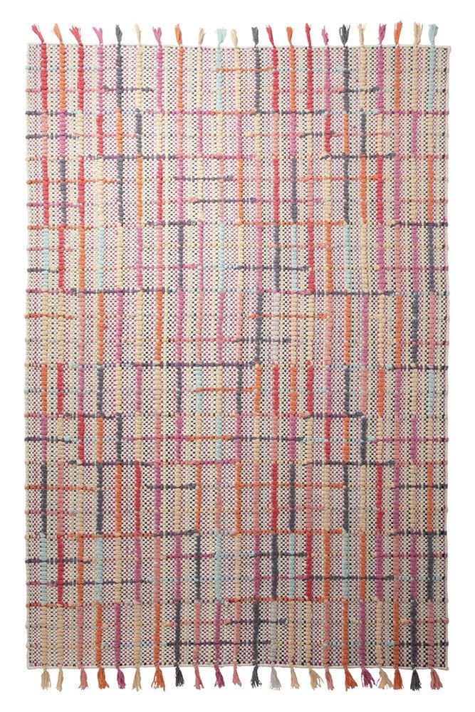Esprit Teppich Freaky (80 x 150cm) in Multicolour - 100% Wolle - Florhöhe 8-15mm