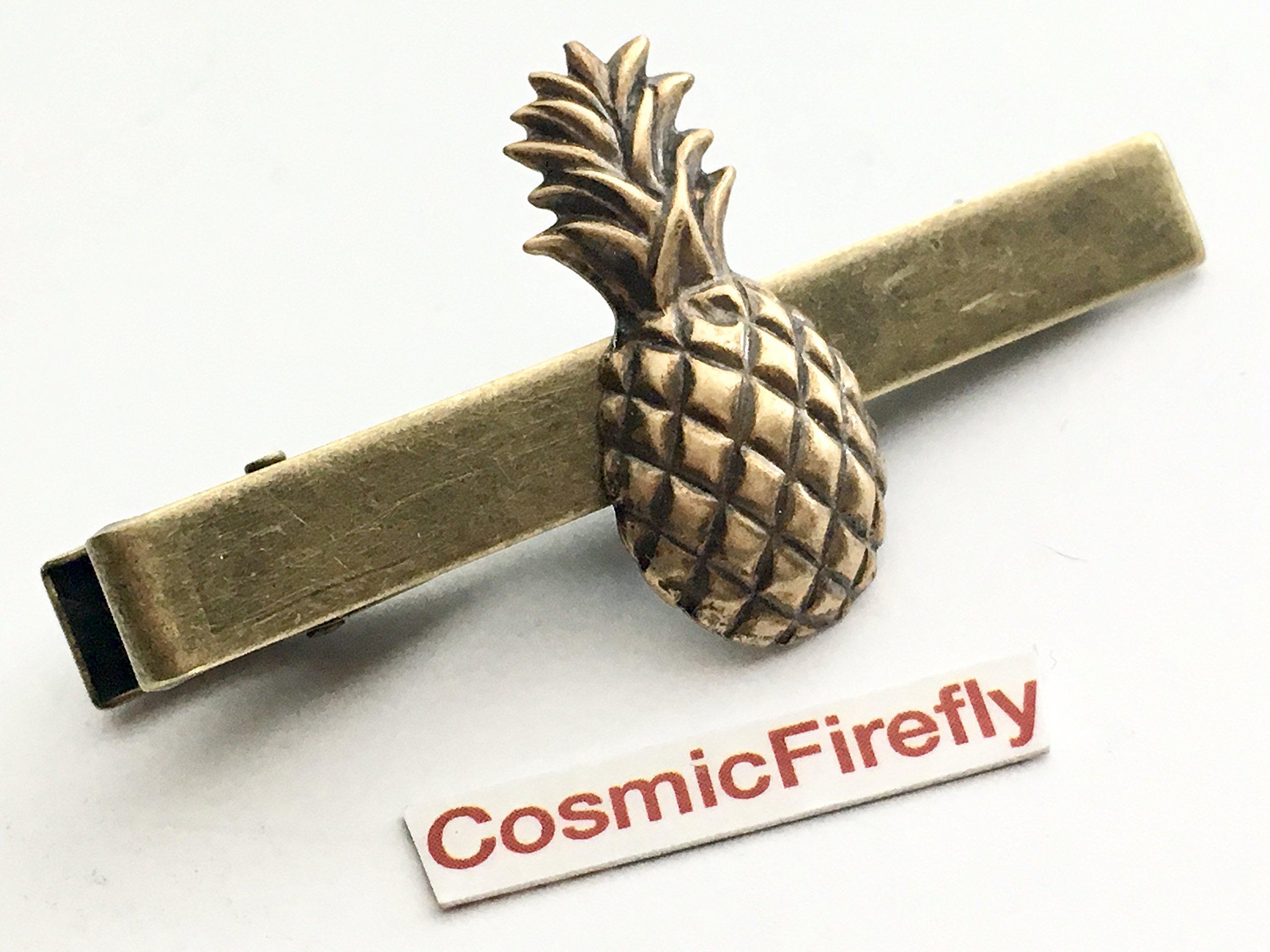 Pineapple Tie Clip Steampunk Tie Bar