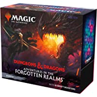 Magic: The Gathering Adventures in The Forgotten Realms Bundle   10 Draft Boosters (150 Magic Cards) + Accessories