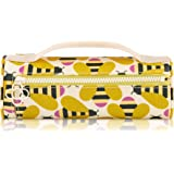 Orla Kiely Busy Bee Brush and Pencil Case,OKWBG3944