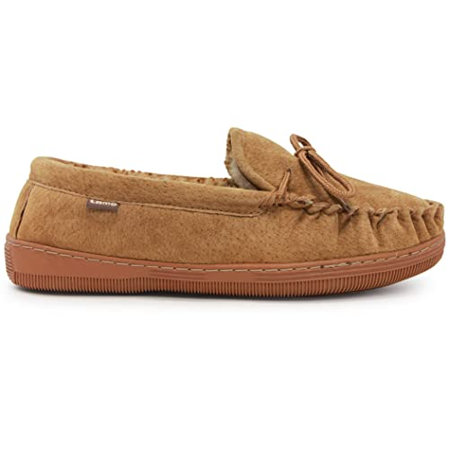 Hausschuhe Herrenschuhe Cooper made English Moccasin Soft Mens moccasin slippers Tan Suede 7 8 9 10 11