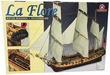 Amazon.com: Constructo Model Ship Kit 80843 La Flore. Scale ...