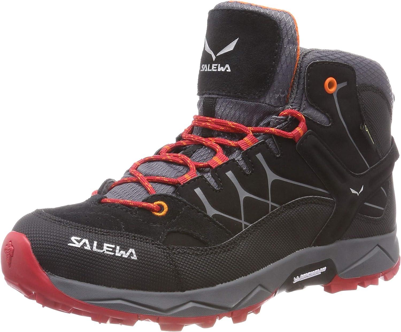 SALEWA Jr Alp Trainer Mid GTX Stivali da Escursionismo Alti Bambino