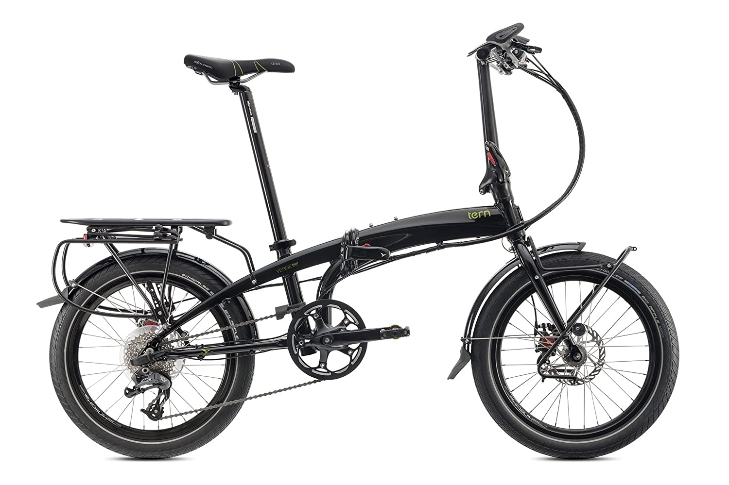 Roll over image to zoom in tern Verge Tour folding bike 20