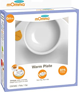 Lansinoh mOmma Mealtime Warm Plate Green 1 Count Non-Flip Non-Slip  sc 1 st  Amazon.com & Amazon.com: Hot Plate - Microwavable Silicone Hot Plate - Warming ...