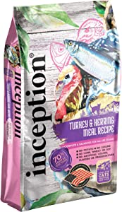 Inception Dry Cat Food – Complete and Balanced Cat Food – Meat First Legume Free Dry Cat Food