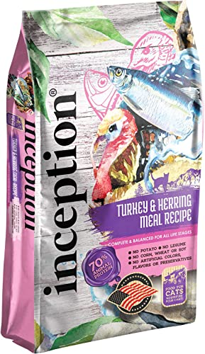Inception Dry Cat Food Turkey with Herring