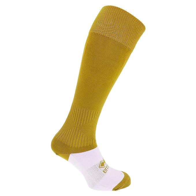 Errea- Calcetines de fútbol para niños (Talla Única) (Amarillo ...