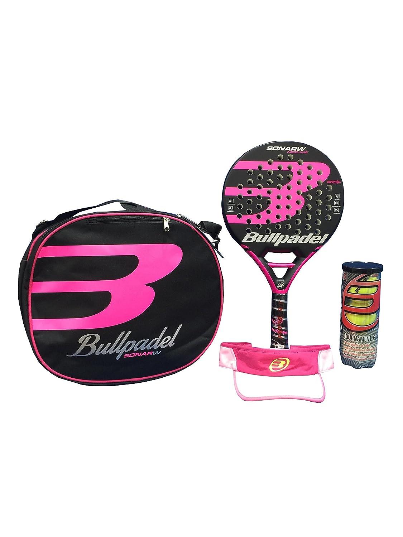 Pack Padel Sonar Mujer Bullpadel: Amazon.es: Deportes y aire ...