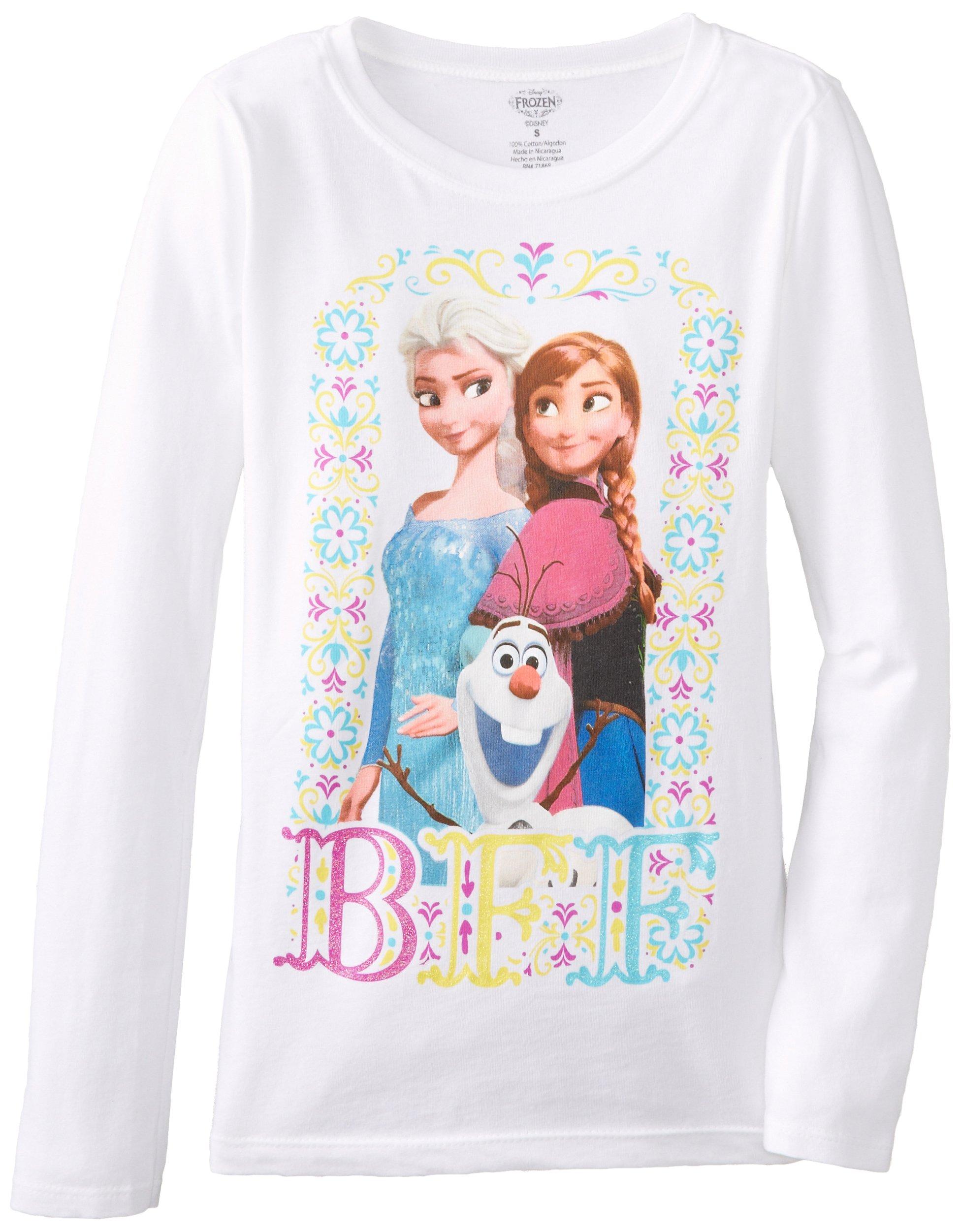 Disney Girls' Frozen BFF Long Sleeve