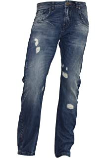 a7aad3551b7e H.I.S. Denim Herren Jeans Hose Modell Randy, rinsed heavy stretch ...