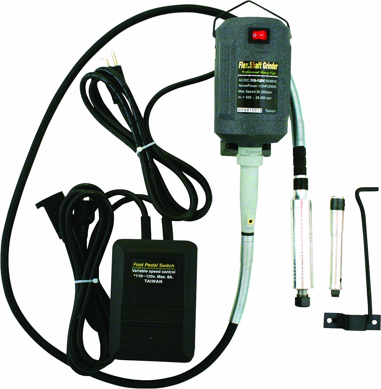 Promax WB91306 1/2-Hp 110-120V 8A Pro Flex Shaft Grinder