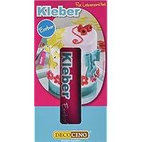 Dekoback Decocino Kleber Essbar für Lebensmittel, 2er Pack (2 x 18 g)