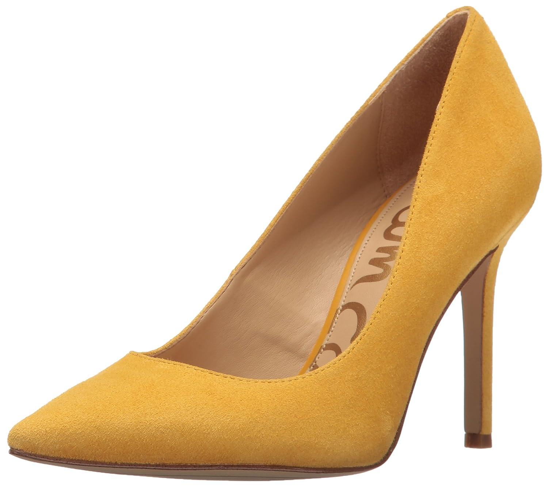 Sam Edelman Women's Hazel Dress Pump B01J6MAB38 5.5 B(M) US|Sunset Yellow Suede