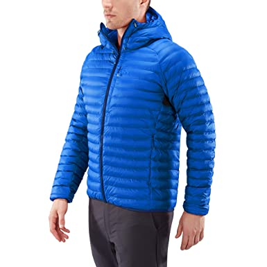80196de9d4c Haglofs Essens Mimic Hooded Jacket - AW18 Blue  Amazon.co.uk  Sports ...