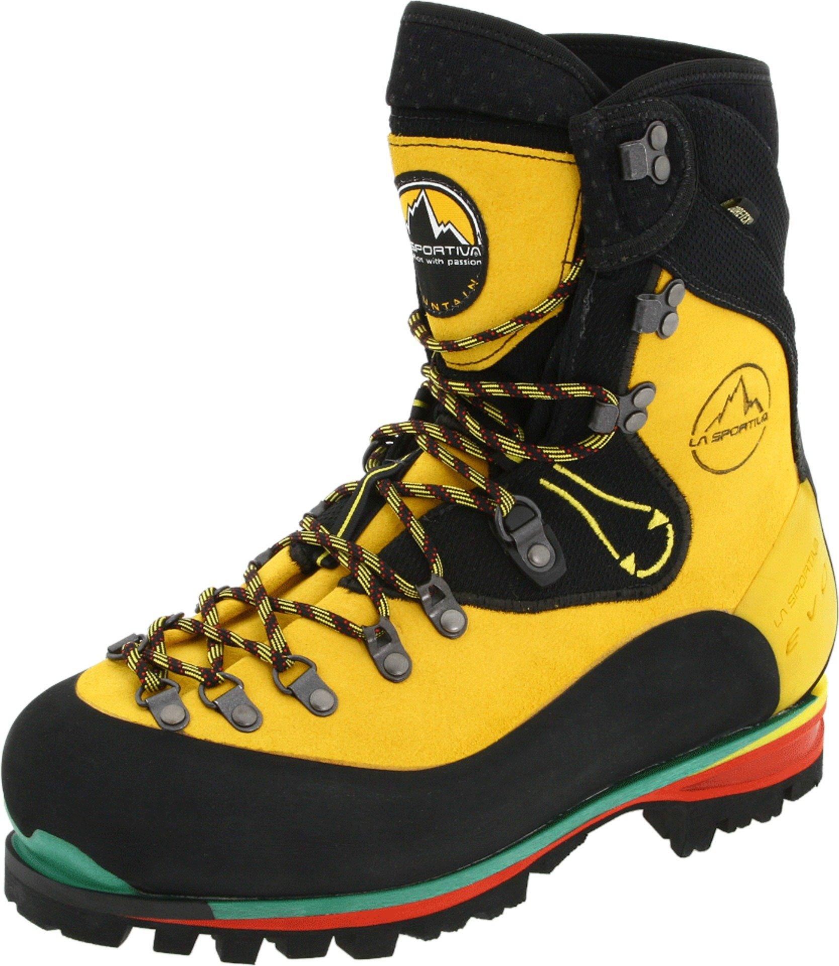 La Sportiva Nepal Evo GTX Mountaineering Boot - Men's Yellow 44.5 by La Sportiva