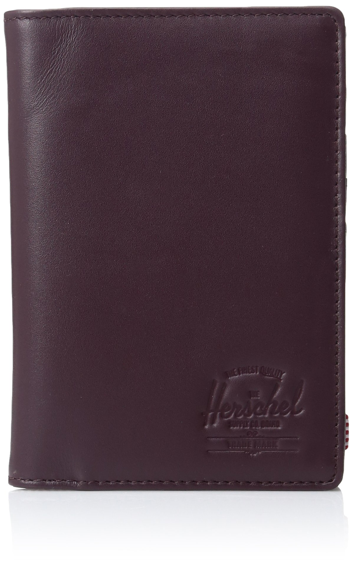 Herschel Supply Co. Women's Raynor Leather Wine, Windsor Wine Textured Leather, ONE SIZE