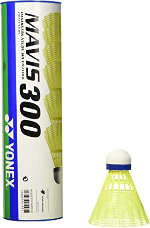Yonex Mavis Badmintonball blau//gelb 6er Dose
