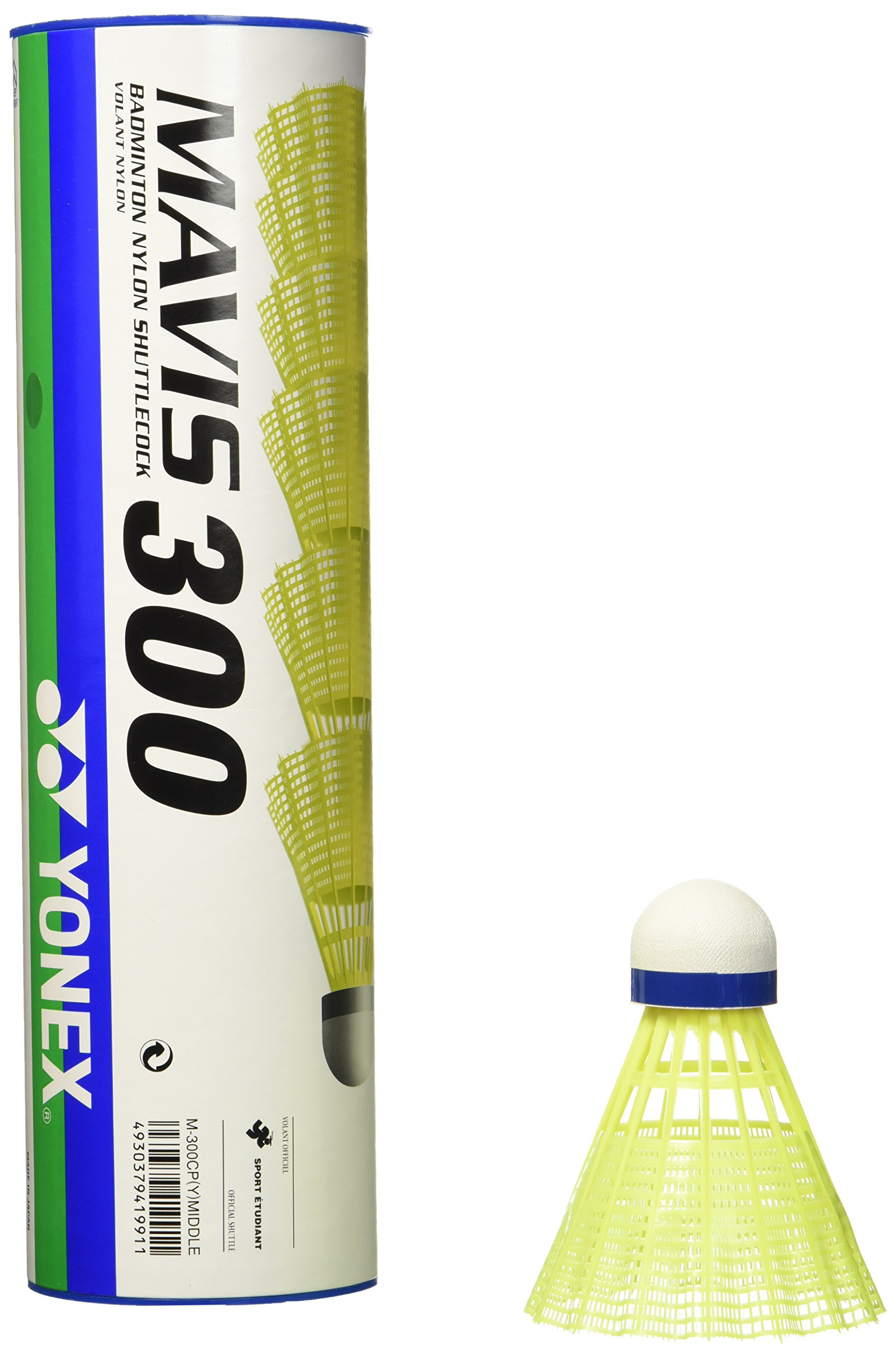 YONEX MAVIS 300 Badminton Medium Speed Volant Nylon Shuttlecock