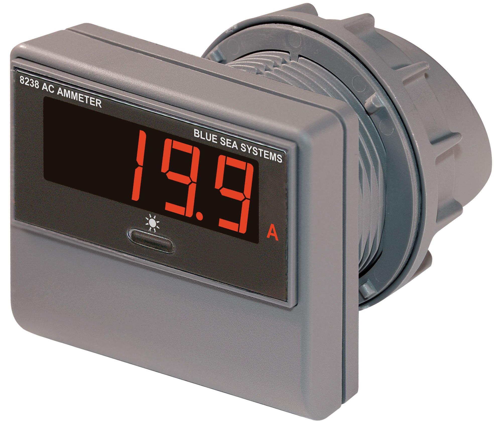 Blue Sea Systems 0 to 150A AC Digital Ammeter