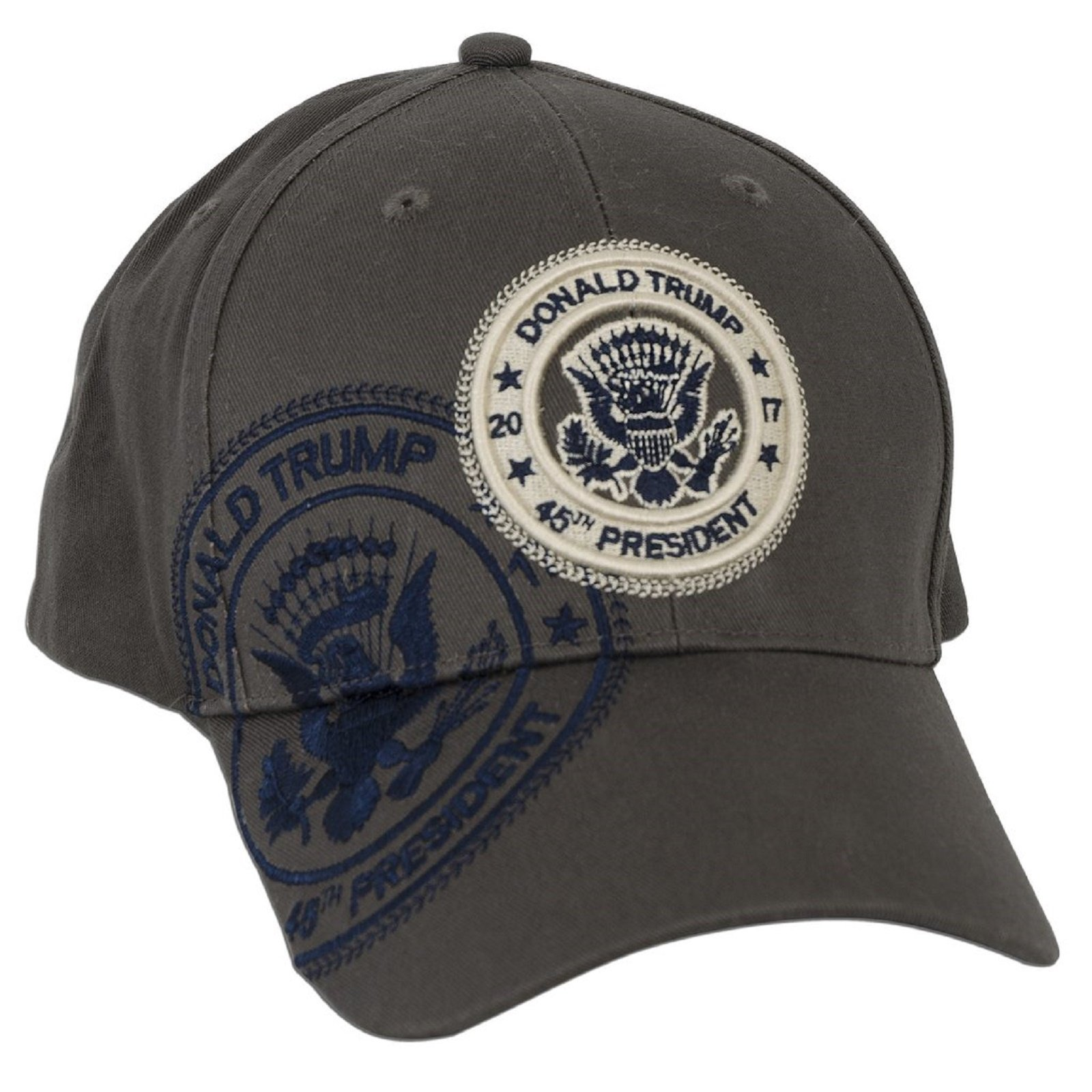 Donald Trump 45th President Grey Hat