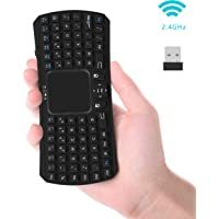 Jelly Comb JC0176B 2.4GHz Handheld Remote Control Touchpad Keyboard (Black)