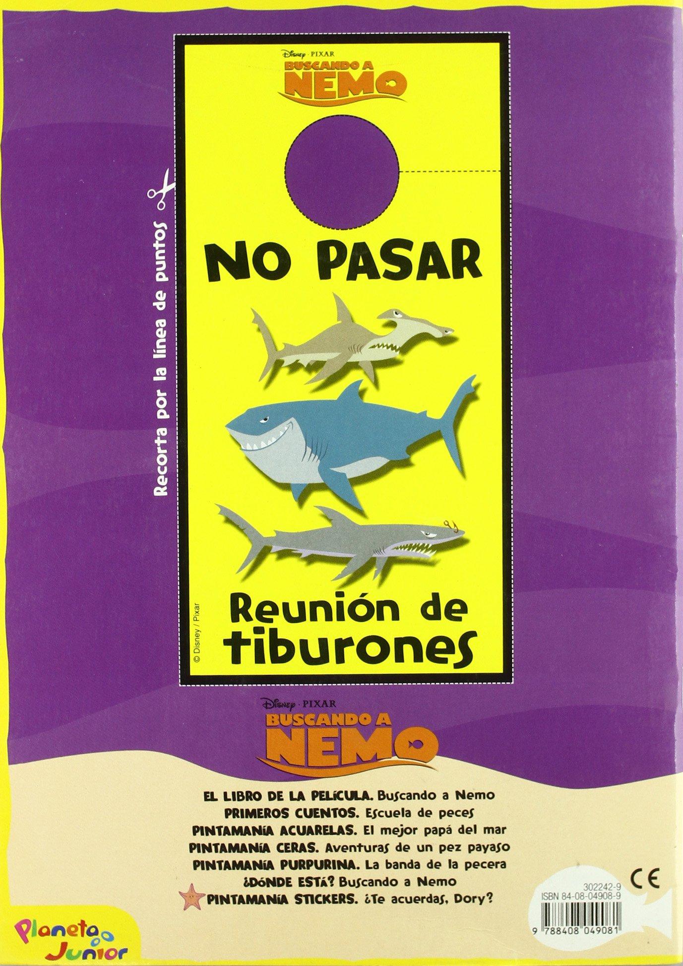 Buscando a Nemo. Pintamanía stickers Disney. Buscando a Nemo: Amazon.es: Disney. Buscando a Nemo: Libros