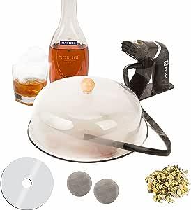 Kuwa Cocktail Smoker Kit   Smoking Gun, Food Smoker Gun, Portable Smoker, With WoodChips, Lid  Food & Drink Smoker Infuser Kit, Whiskey Smoker, Bourbon Smoker Kit   Cocktail Smoking Kit, Smoke Infuser