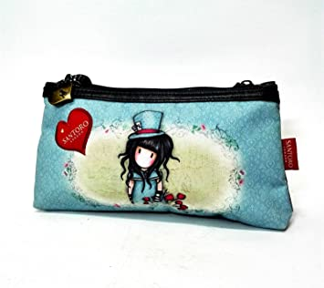 Estuche Bolsita doble Gorjuss Santoro London Azul Burdeos ...
