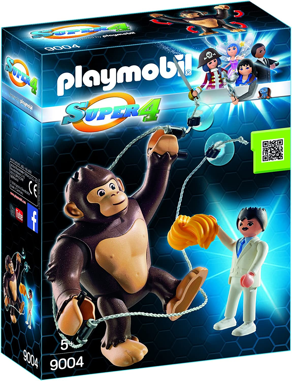 Playmobil Super 4 - Gorila Gigante Gonk, Personaje de la Serie Super 4, Multicolor (9004)