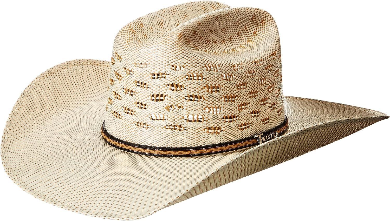 M /& F Western Products Punchy Adult Straw Cowboy Hat