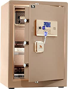 TIGERKING Safe,Security Home Safe,Protect You Gun,Jewelry,Cash 3.7 Cubic Feet