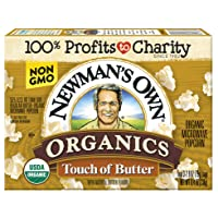 Deals on 12-Pack Newmans Own Organics Microwave Popcorn 8.4oz