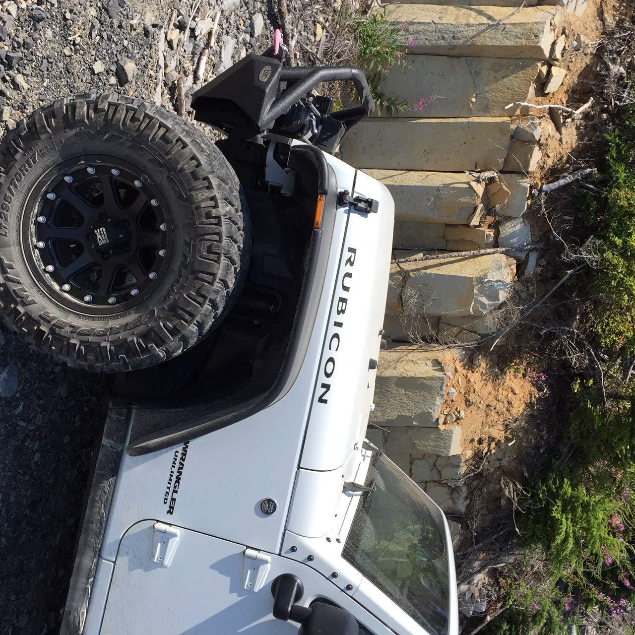 Sahara /& Sport models gas or diesel engines Truxxx 601012-2.5 lift kit fits 2007-2018 Jeep Wrangler JK 2 door /& 4 door ~ Rubicon