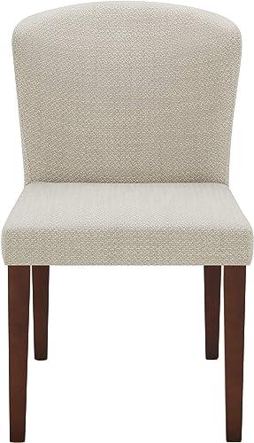 Amazon Brand Rivet Eli Modern Curved-Back Dining Chair