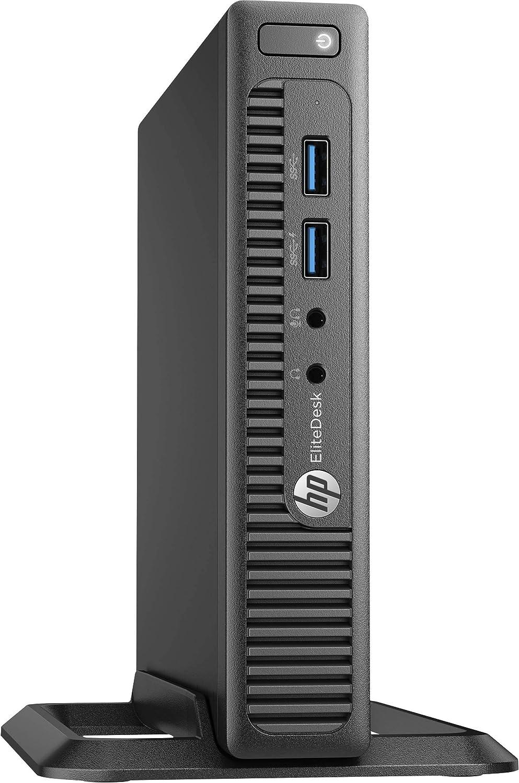 HP EliteDesk 705 G3 Mini Desktop, AMD Pro A10-9700E Quad-Core, 8GB DDR4, 256GB SSD, AMD Radeon R7 Graphics, Windows 10 Pro