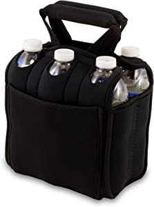 Picnic Time Six Pack Insulated Beverage Tote