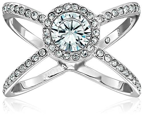 6a0666359 Michael Kors Silver Modern Brilliance Ring, Size 8: Amazon.ca: Jewelry