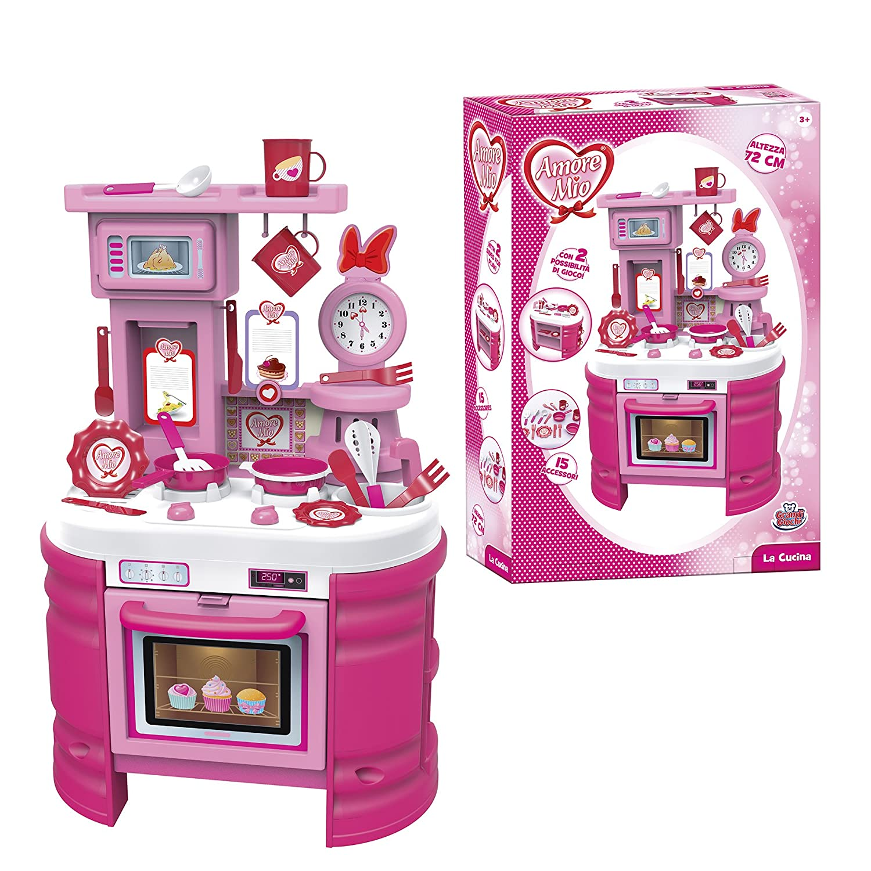 Bakaji Cucina Per Bambine Giocattolo 31 Accessori Con Stoviglie ...